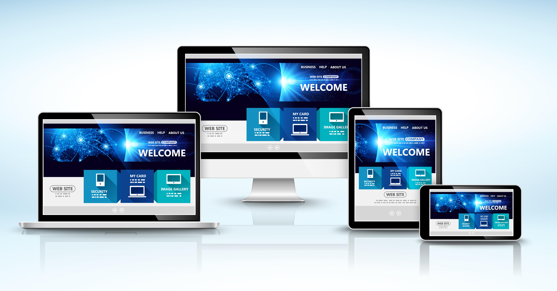 (RWD) technika projektowania strony www, tak aby jej wygląd i układ dostosowywał się automatycznie do rozmiaru okna urządzenia