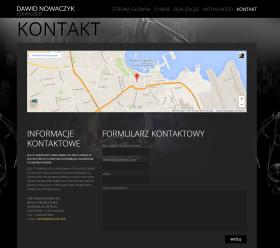 (Polski) Strona internetowa dawidnowaczyk.com