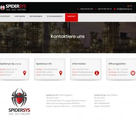 Spidersys LTD