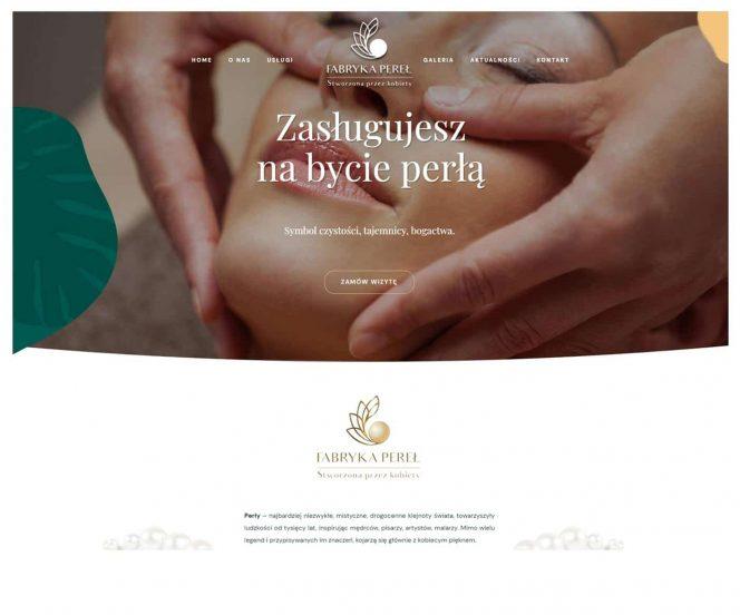 Strona internetowa Fabryka Pereł
