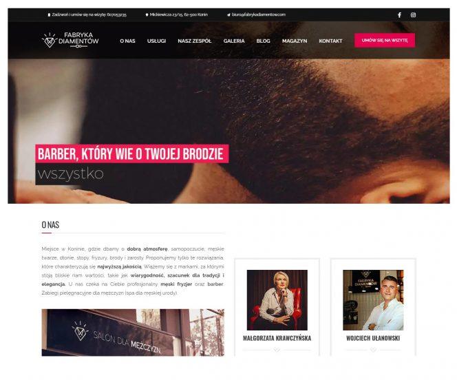 Strony www Konin